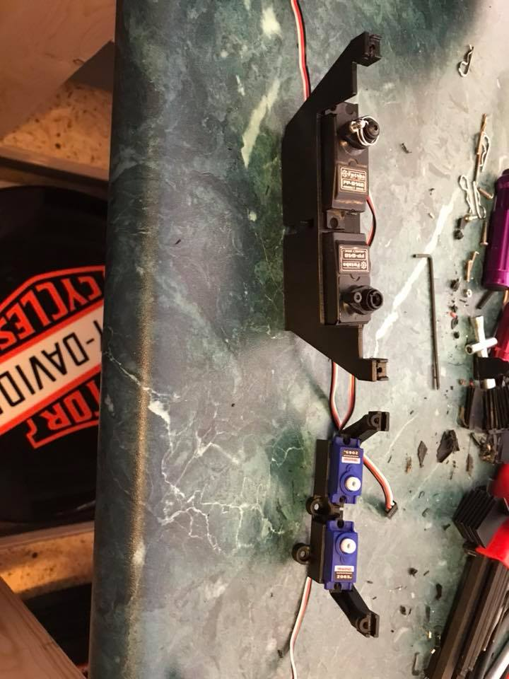 Micro servo en remplacement des 2065 du TRX-4 : différentiel et boite de vitesse 27072310