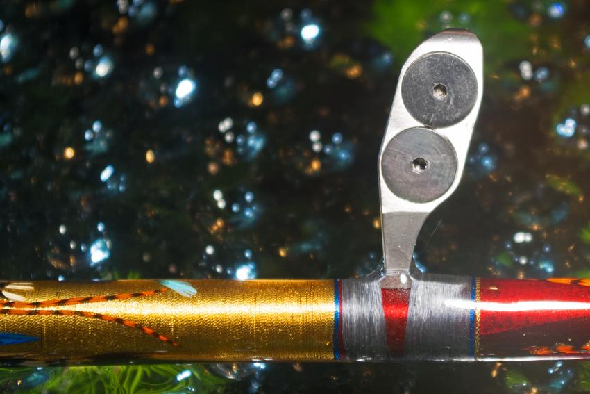 Canna reverse a carrucole per drifting al tonno Imgp5516