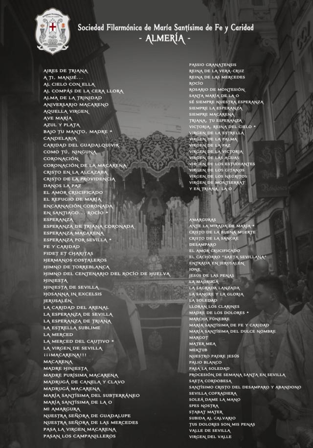 Marchas Procesionales | REPERTORIO  Img_2241