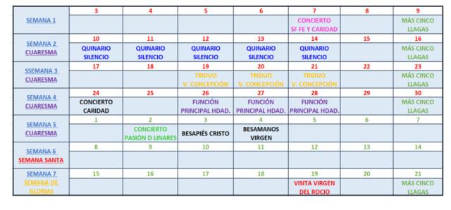 CALENDARIO DE CULTOS Img_2273