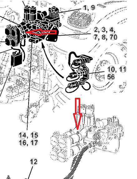 probleme hydraulique John Deere 6220  Disti_10