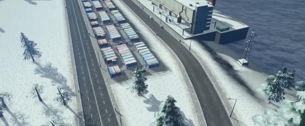 Byenbjerge centre économique d'Isøen [Détail] 0410