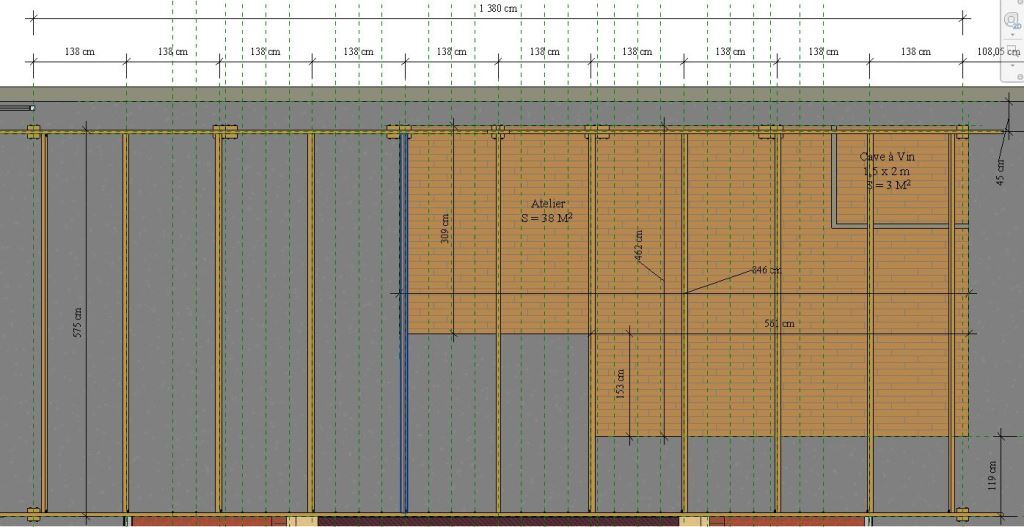 Dimensionnement charpente Plan_c11