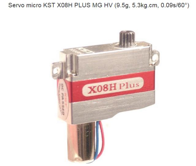 (vendu) Servos KST X08 et support Kst_x011