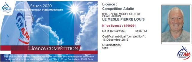 Annulation : F5J des CIGOGNES à BRETIGNY Samedi 28 mars 2020 Licenc12