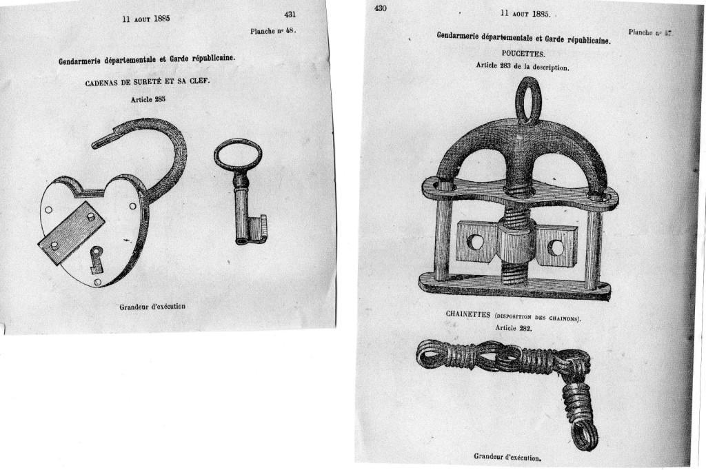 Quelques objets anciens de la police. Img36610