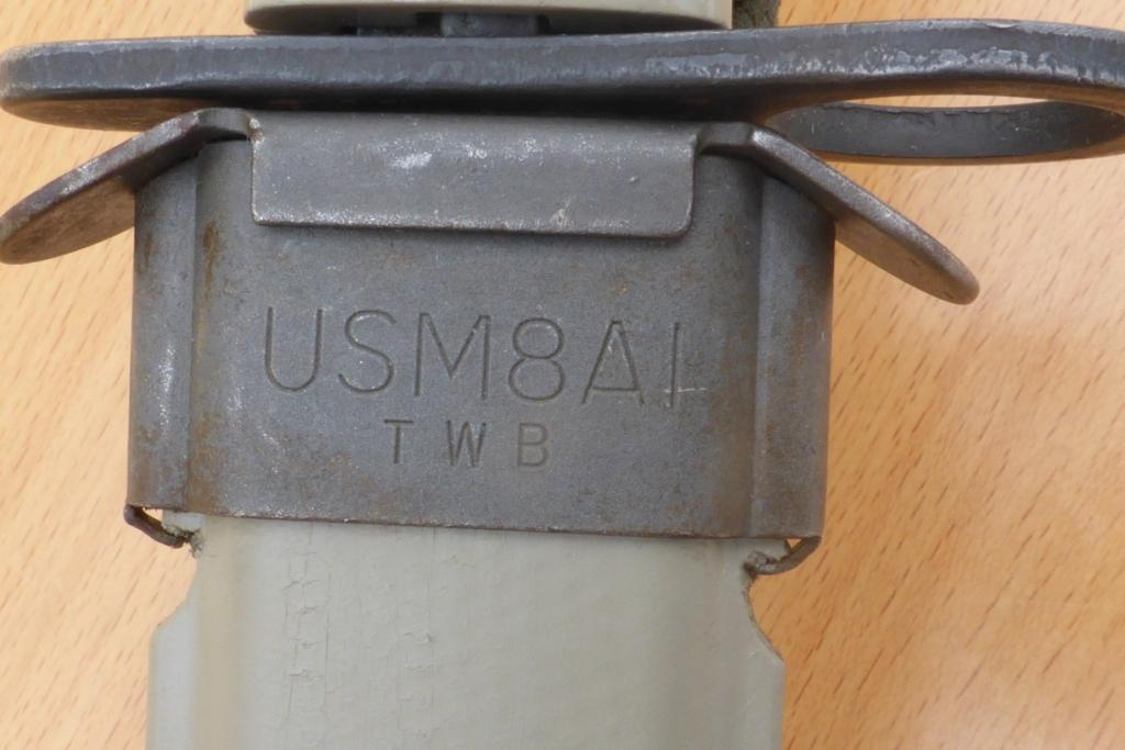 Baïonnette US.M7 BOC. DESERT STORM P1060617