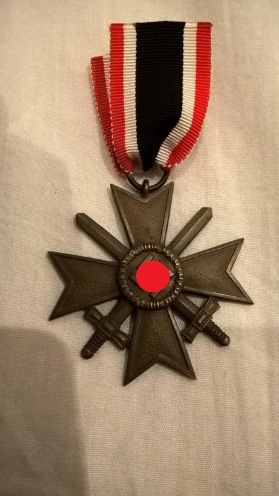 Authentification croix du mérite ww2 20190814