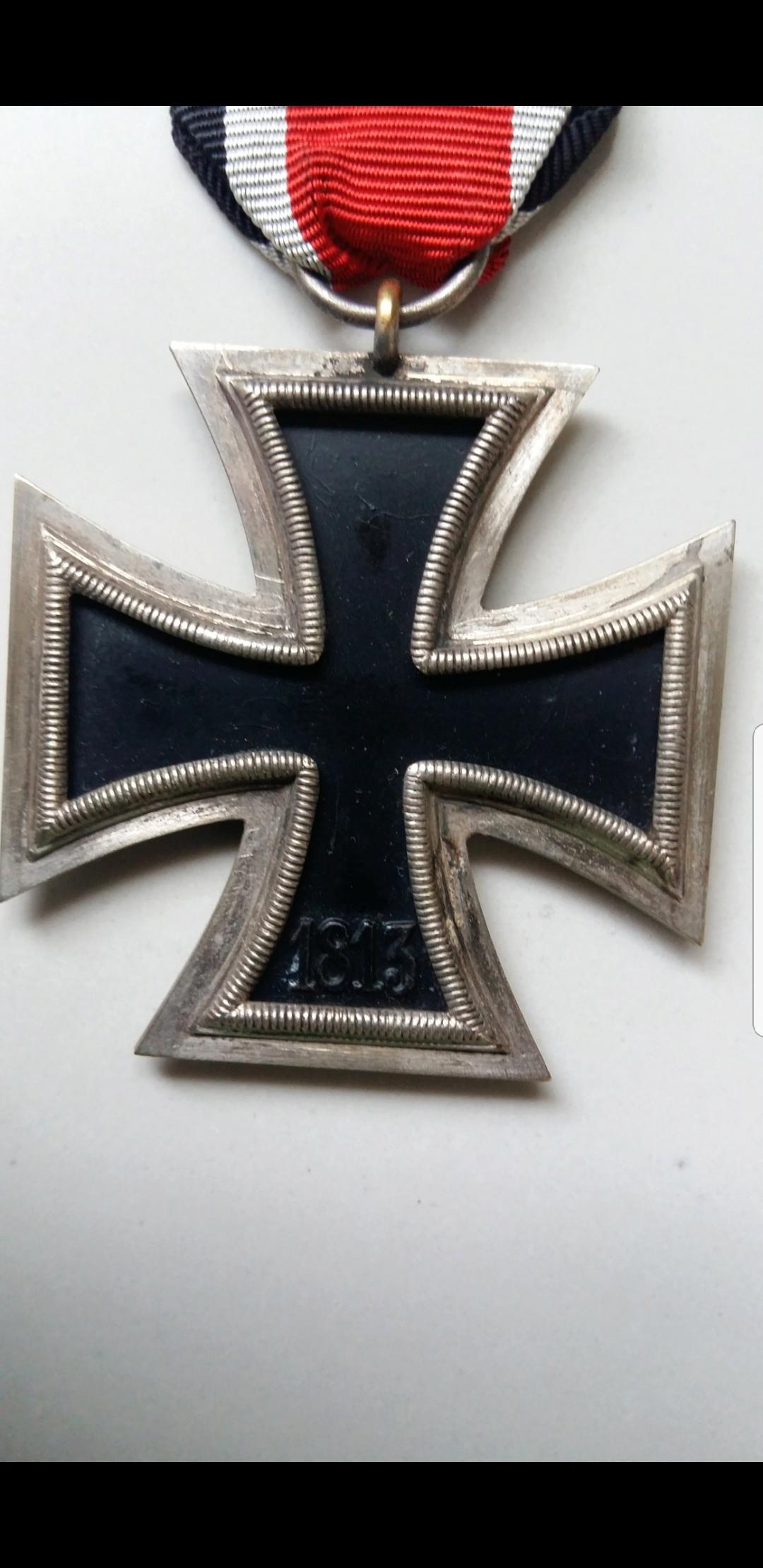 Authentification croix de fer allemande ww2 Screen29