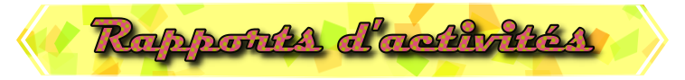 [P.N] Rapports d'activités de Lalie-Corne Rappor16