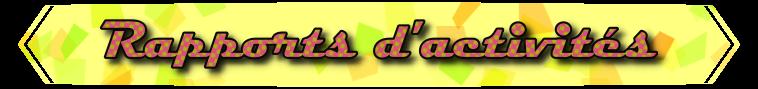 [P.N] Rapports d'activités de Lalie-Corne Rappor25