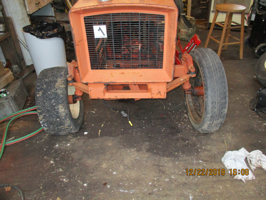 Allis Chalmers 616 basket case rebuild. Img_1311