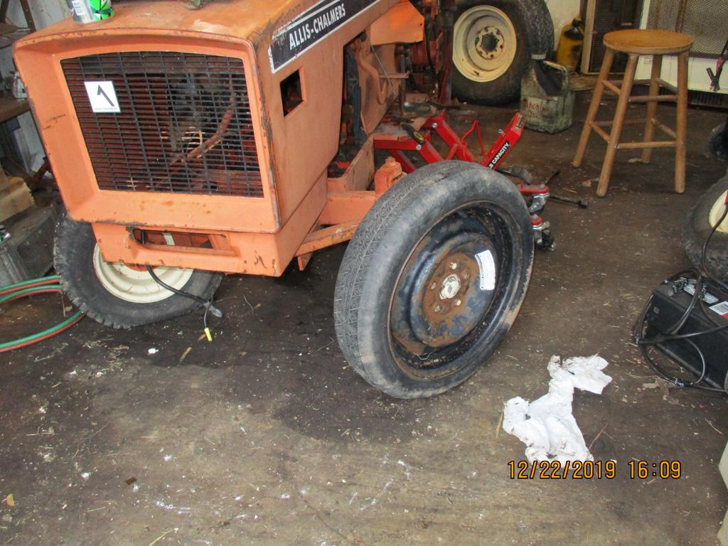 Allis Chalmers 616 basket case rebuild. Img_1312