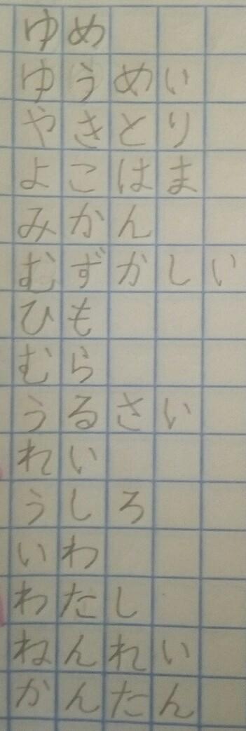 *CLASE 14* Hiragana filas M, R, Y, W, N (puedes ganar PS) Img_2015