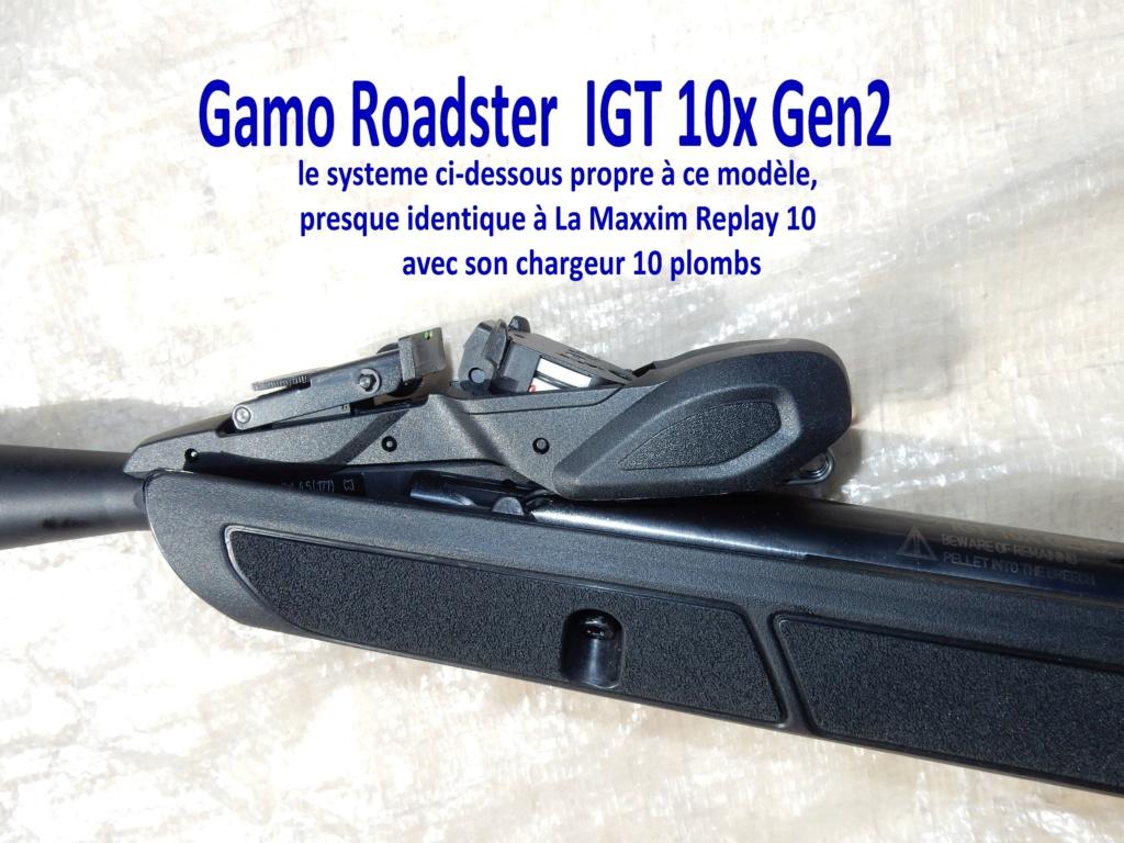 [Tuto]  nettoyage du canon de la Gamo Roadster IGT 10X gen2 110