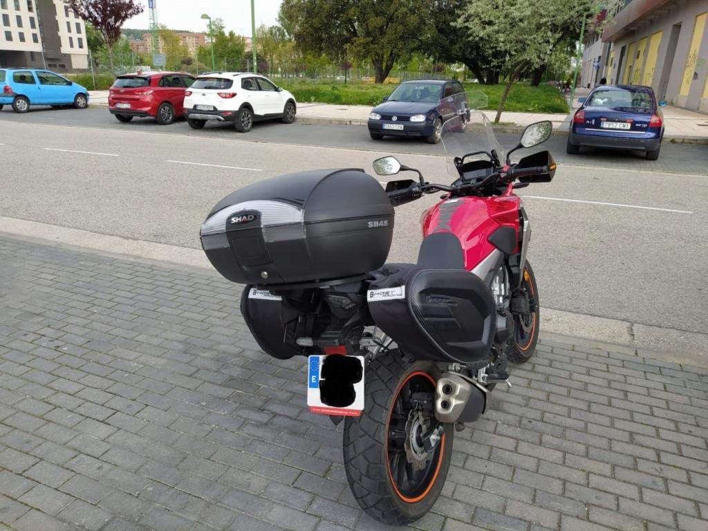 Fijaciones, baúles, maletas y alforjas CB500X - Página 33 Moto210