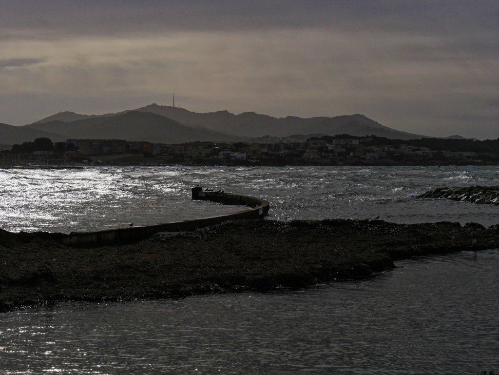 Fin de tempête en baie de Sanary Baie310