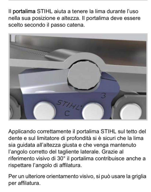 AFFILATURA DELLA CATENA TAGLIENTE parte 3 6f97be10