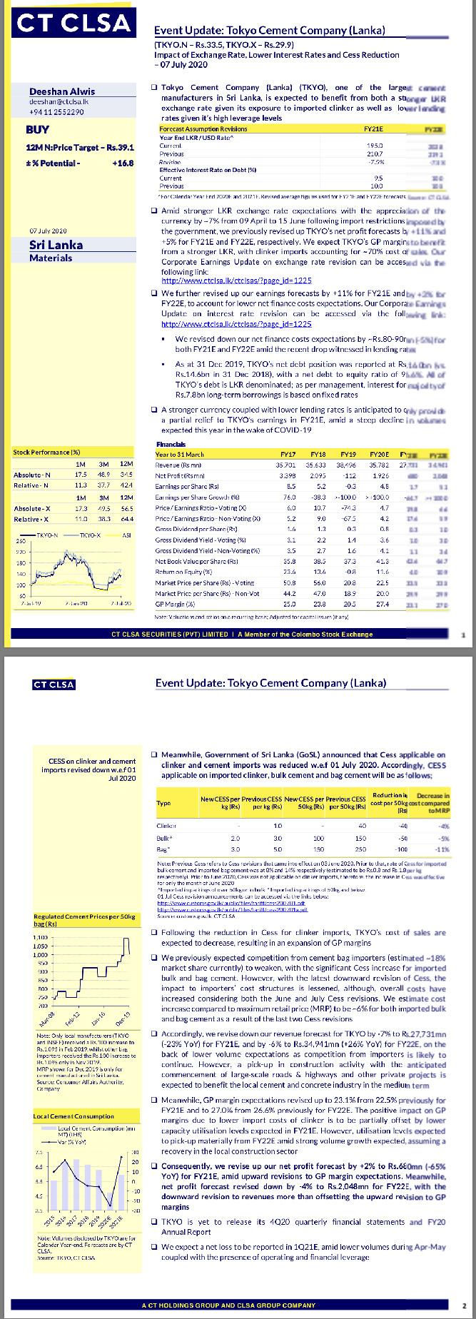 TOKYO CEMENT COMPANY (LANKA) PLC  - Page 6 A3252b10