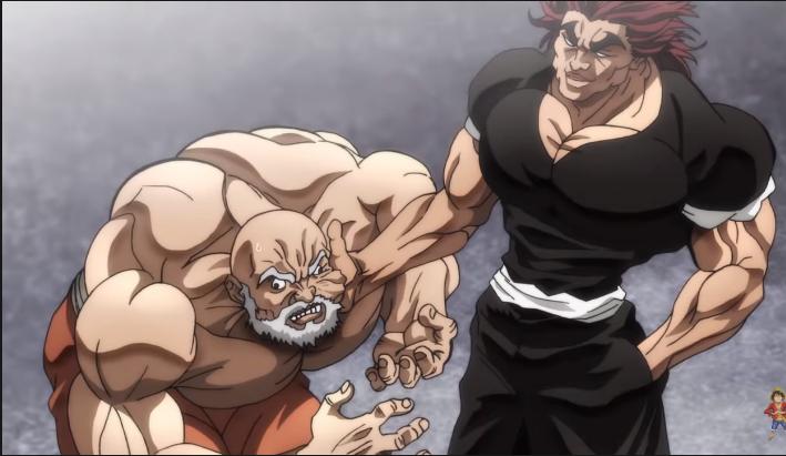 Qual foi a fuga mais braba (fudi**) dos 5 prisioneiros de Baki ?  Yujiro10