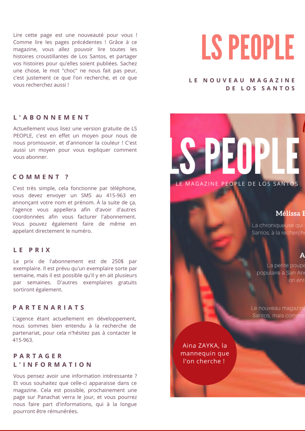 Magazine LS PEOPLE - 14 AVRIL 2020  411