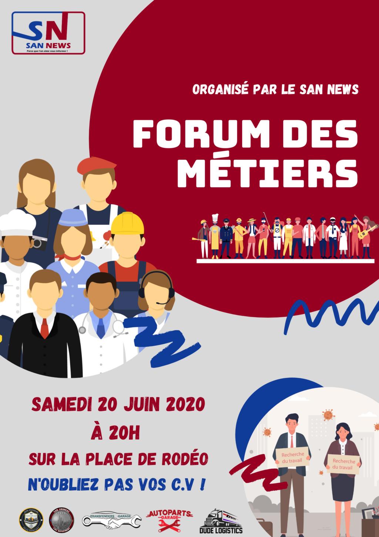 [AFFICHE SAN NEWS] FORUM DES MÉTIERS  Forum_10