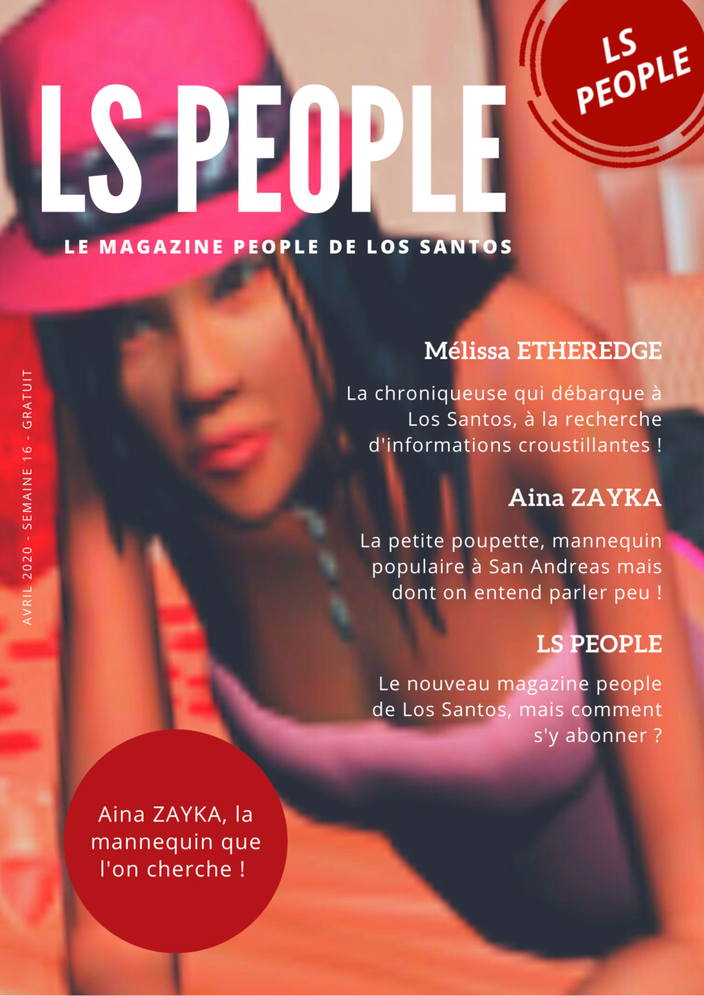 Magazine LS PEOPLE - 14 AVRIL 2020  Los_sa10