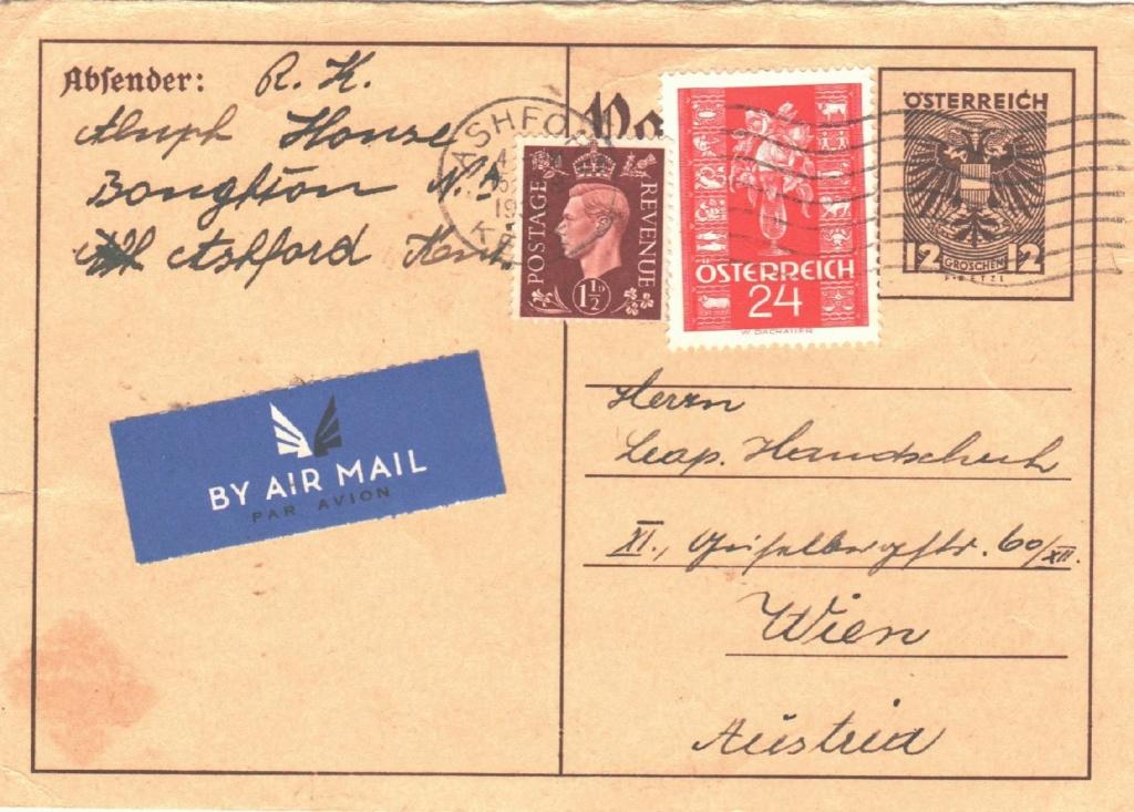 Bedarfspost Ganzsachen Österreich 1925-1938 - Seite 2 452c6b10