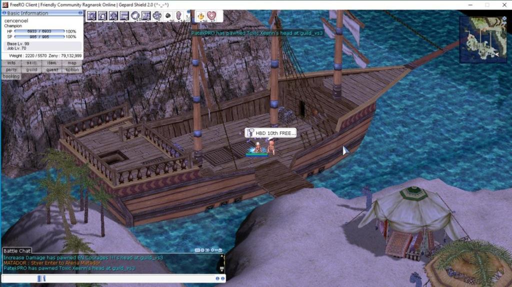 Event Screenshot Anniversary 10th FreeRO C8gdxf11