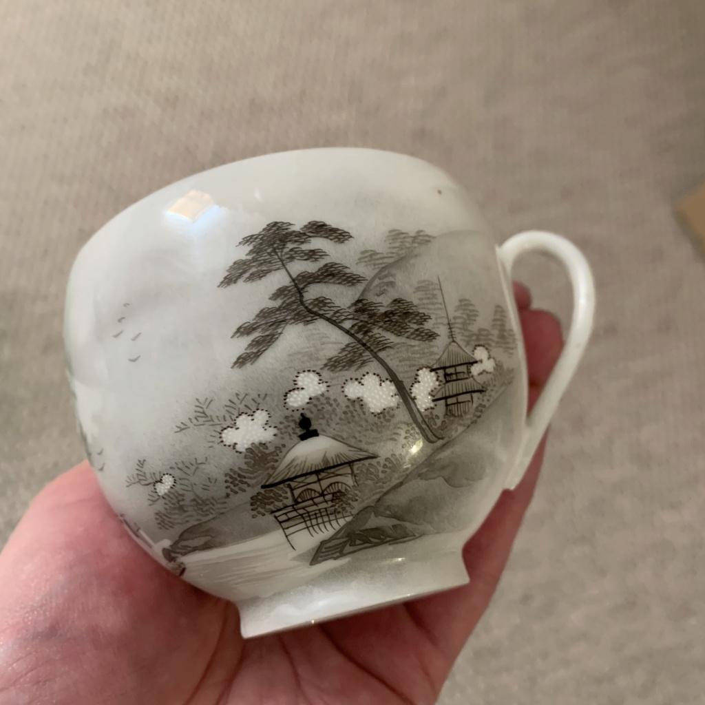 Teacup , Japanese kutani porcelain  Img_1211