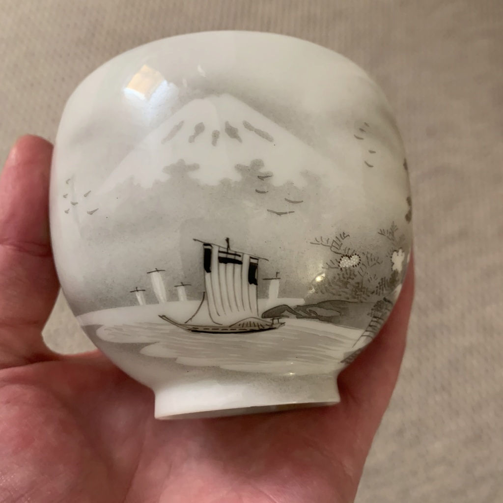 Teacup , Japanese kutani porcelain  Img_1212
