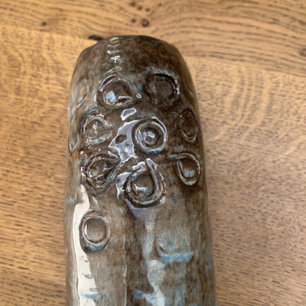 Rustic Looking Cylinder Vase ID Help Img_2411