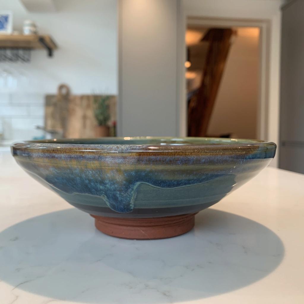 Drip Glazed Ceramic Bowl ID Request - possibly Rupert Blamire  Img_4014