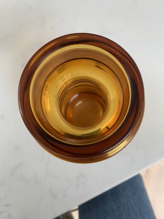 Can you ID this Amber Vase? Img_5021