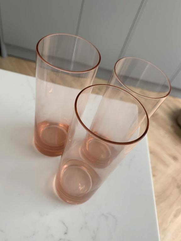Tinted Glass Tumblers Img_5043