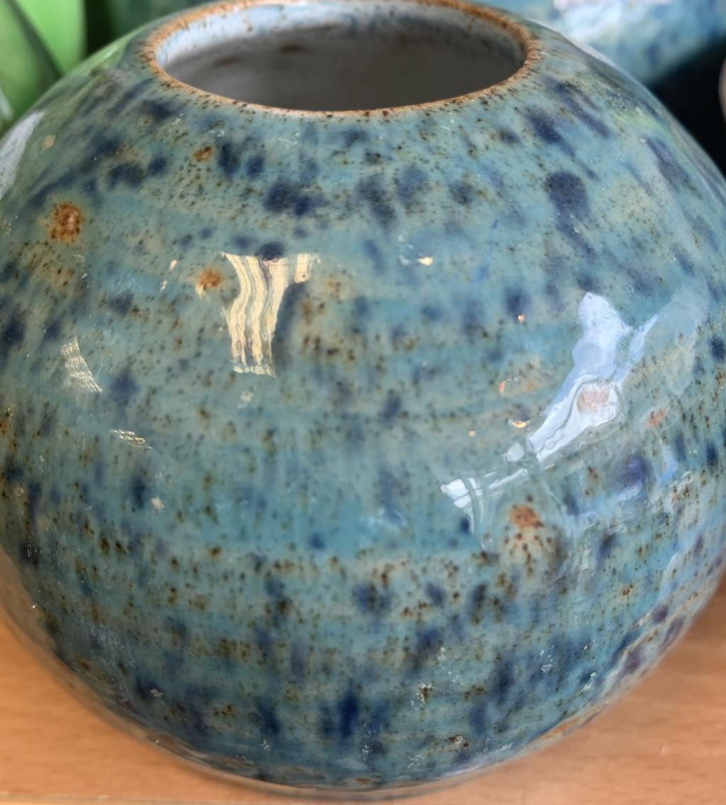 """Small 15cm Ceramic Glazed Pot - """"Kylie"""" Img_5111"""