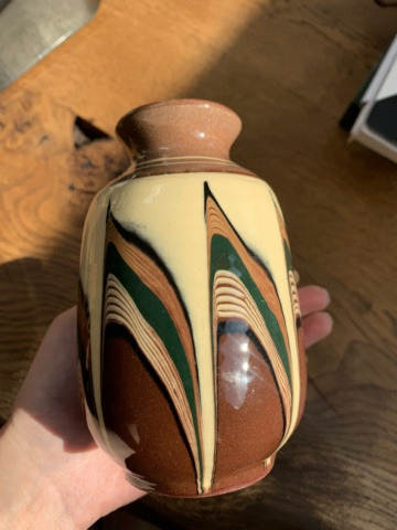 Possible Bulgarian Vase With Original Sticker ID Help Img_7010
