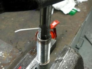 Réparation d'un filetage de manivelle 14x125 Repara13
