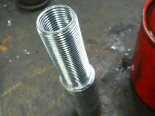 Réparation d'un filetage de manivelle 14x125 Repara14