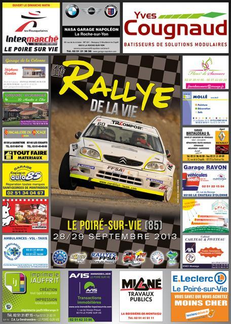 [85] Exposition 1er Rallye des Côtes de Lumière - 01/09/13 Affich10