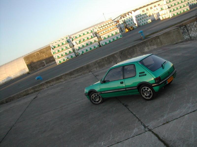 [85] 205 GTi Griffe - 130cv - AM91 - Vert Fluorite - N°0688/1652 Dscn0010