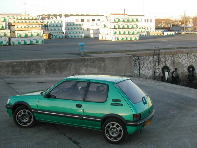 [85] 205 GTi Griffe - 130cv - AM91 - Vert Fluorite - N°0688/1652 Dscn0011