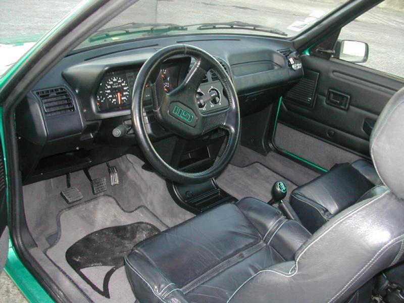 [85] 205 GTi Griffe - 130cv - AM91 - Vert Fluorite - N°0688/1652 Dscn0015