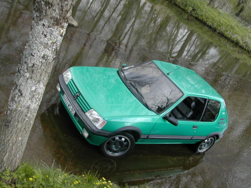 [85] 205 GTi Griffe - 130cv - AM91 - Vert Fluorite - N°0688/1652 Dscn0111