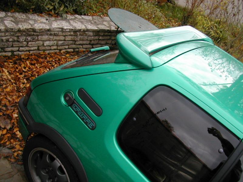 [85] 205 GTi Griffe - 130cv - AM91 - Vert Fluorite - N°0688/1652 Dscn3910