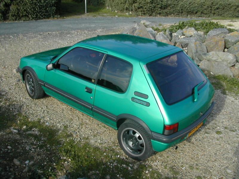 [85] 205 GTi Griffe - 130cv - AM91 - Vert Fluorite - N°0688/1652 Dscn5014