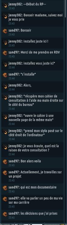 [C.H.U] Rapports d'actions RP de jenny302 - Page 2 Rp124