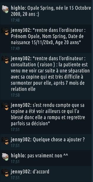 [C.H.U] Rapports d'actions RP de jenny302 - Page 2 Rp1617