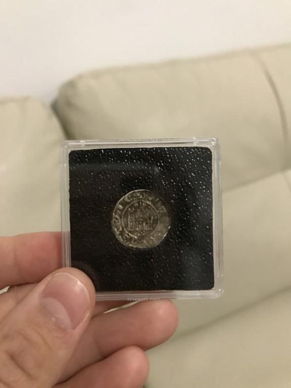 Dinero prieto de Alfonso X. Sevilla. Emisión 1270 d C. 15c29e10