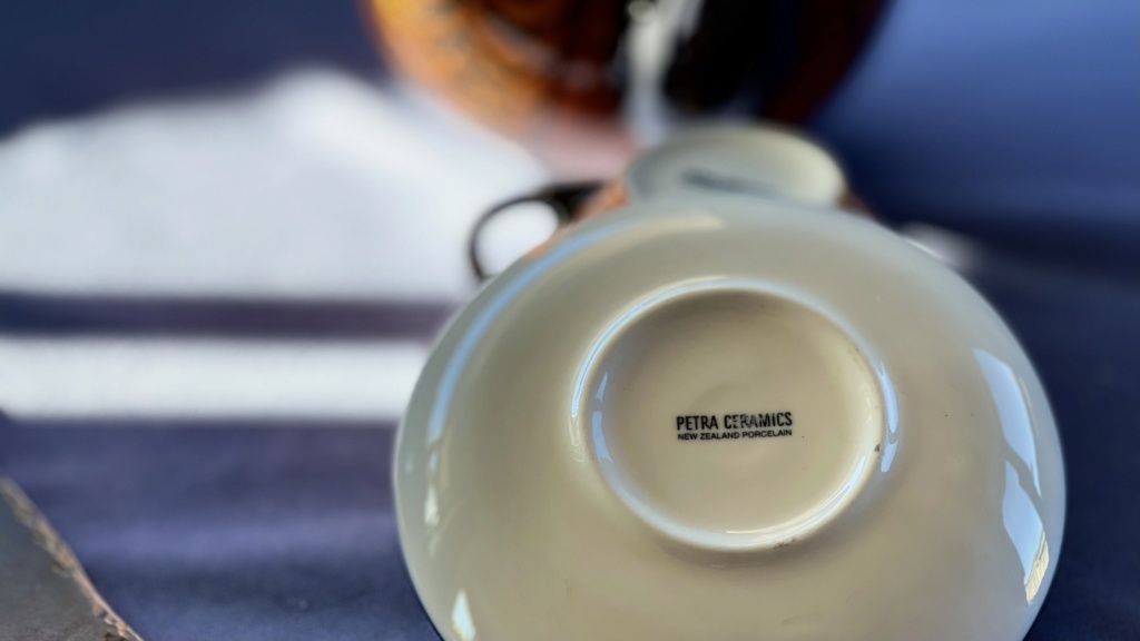 Petra Teapot with cup and saucer 9a75ac10